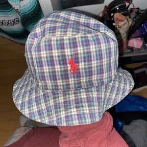 Reversible Polo Bucket Hat